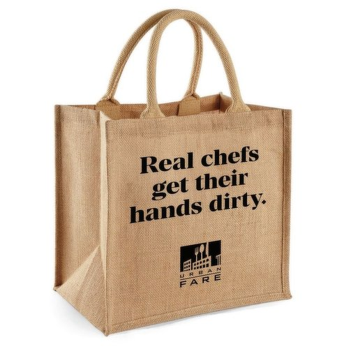 Real chefs get their hands dirty.