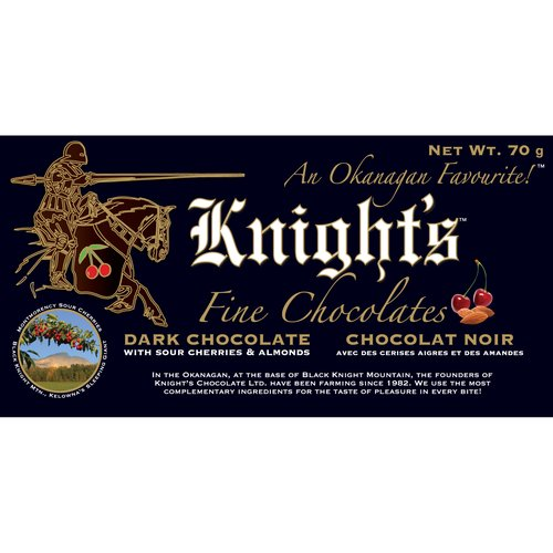 Each bite possesses a unique flavour mixed with a crunch of almond and chewy dried sour cherry. This dark chocolate comes without the traditional bitterness of other dark chocolate.