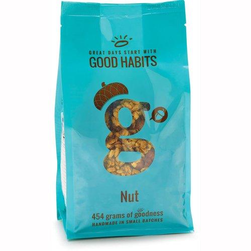 Handmade in Small Batches. Almonds, Hazelnuts + Oats, Sunflower Seeds, Demerara Sugar, Golden Syrup, Butter, Crispy Rice, Canola Oil, Pecans, Ground Flax Seeds, Vanilla.