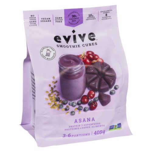 This highly nutritious smoothie is the perfect combination of comfort from our local ingredients and the exotic touch of South America. Composed mainly of wild blueberries from local fields and acai berries, this smoothie will support you throughout the day. Let yourself be surprised by the exquisite taste of this natural blend !