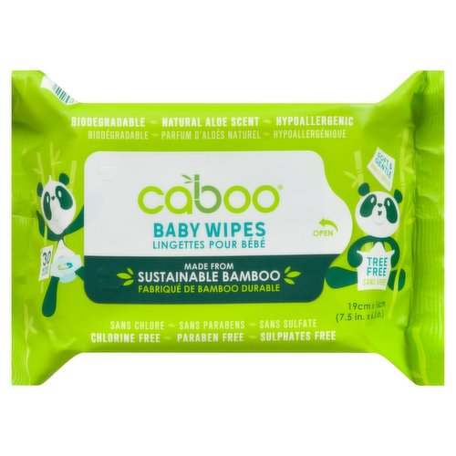 Gentle and Soothing. Our wipes contain natural organic extracts including Aloe Vera, Chamomile and Vitamin E for your baby's sensitive skin.
