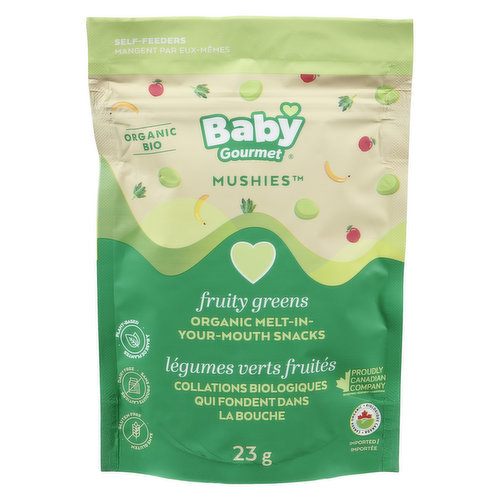 Help your baby develop a love for spinach and kale with melt in your mouth, bite sized bits of fun that babies can feed themselves.
