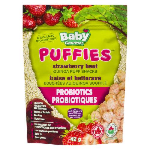 Quinoa Puff Snacks. Source of Protein. Rice Free, Gluten Free.