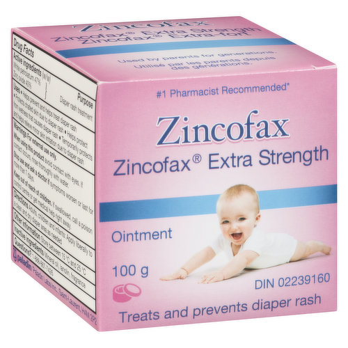 Prevents & Treats Diaper Rash. Recommended by Doctors. Used by Parents for Generations.