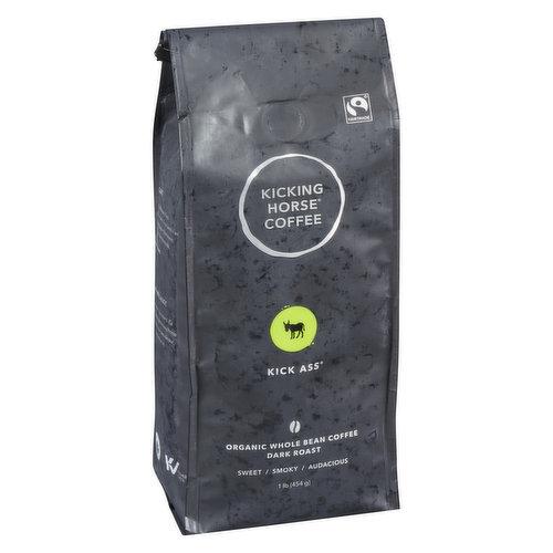 Organic. Fair Trade. Dark Roast.