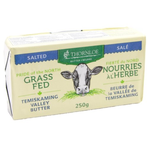 Canadian, Grass Fed Salted Butter<br />