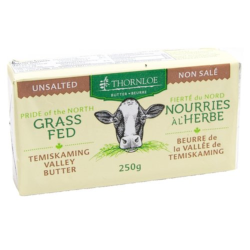 Canadian, Grass Fed Unsalted Butter<br />