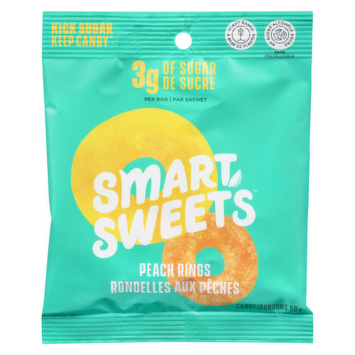 Delicious plant-based candy - without sugar alcohols. Every ingredient they use is non-GMO, always real & never artificial colored or flavored. Gluten, Dairy, Soy & Lactose & Peanut Free. Vegan.