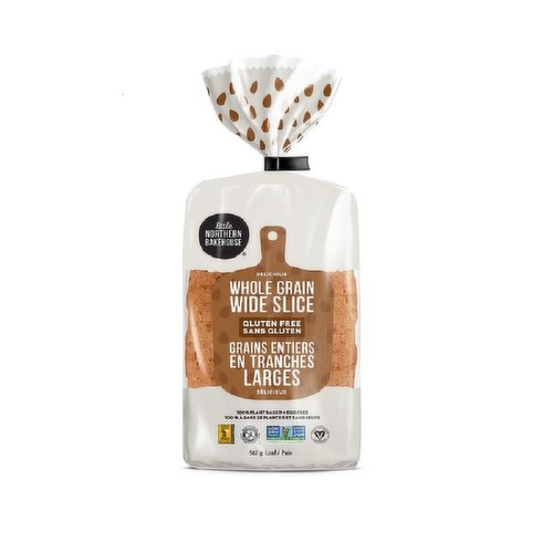 This Gluten Free loaf is made with a blend of whole & ancient grains that give it a deliciously hearty bite. 100% plant based, egg & peanut free, Non-GMO & vegan.