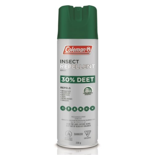 Enjoy the outdoors - maximize your Canadian summer experience with Coleman Insect Repellent.