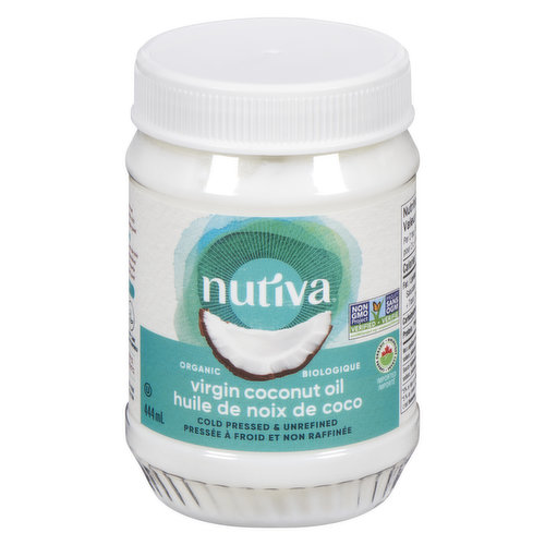 Organic Superfood 100% Less Cholesterol than Butter. Nutiva Organic Virgin Coconut Oil is made with fresh, certified-organic coconuts that are carefully chopped, washed, and then dried.