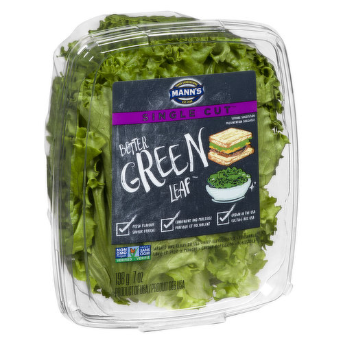 Fresh Flavour, Convenient and Multiuse. Grown in the USA.