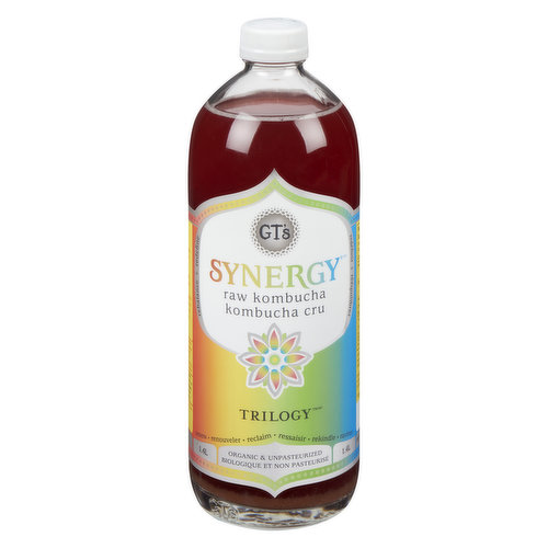 Threes company with tangy raspberries, tart lemons & spicy ginger. Organic.