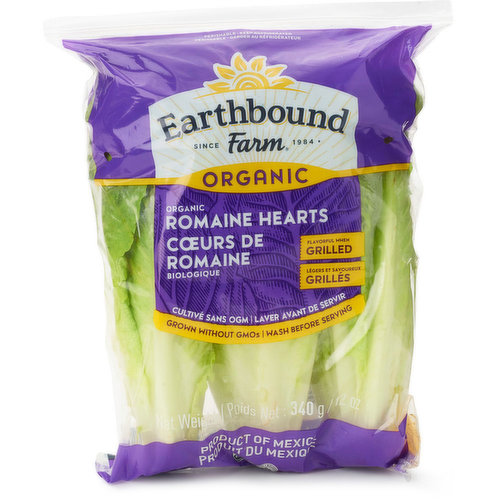 3 Pack of Romaine Hearts.
