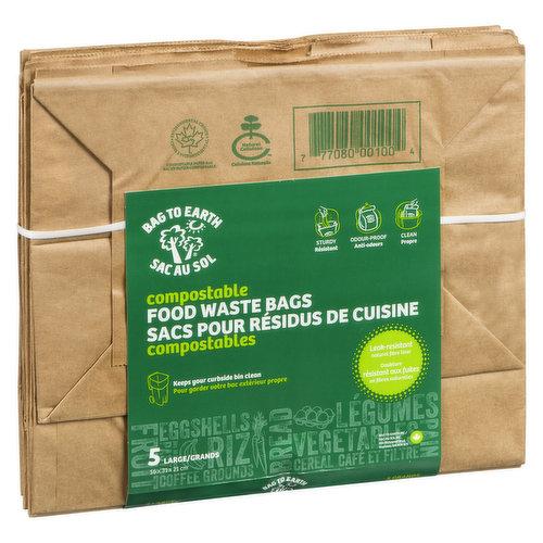 Keeps your curbside bin clean. 5 Large bags.