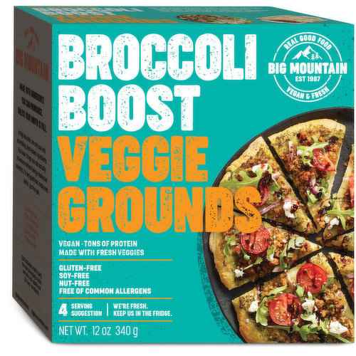 Tossed in teriyaki with broccoli, carrots, and celery. Free of common allergens. Excellent source of protein. Vegan, gluten free, soy free and dairy free. 4 serving= 340g