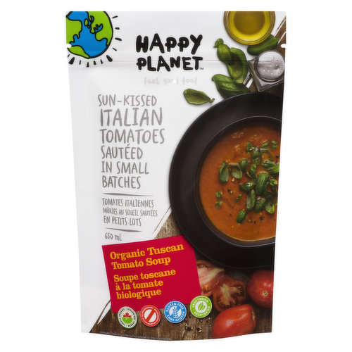 Gluten Free, Organic. One taste and youll want to know how we got the sandwich into the soup. Contains milk ingredients.