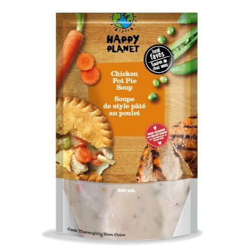 Our Chicken Pot Pie soups are made with certified organic, free-ranged, grain-fed chickens raised on local farms in the Kawartha Lakes region in Ontario. Contains milk ingredients and wheat.