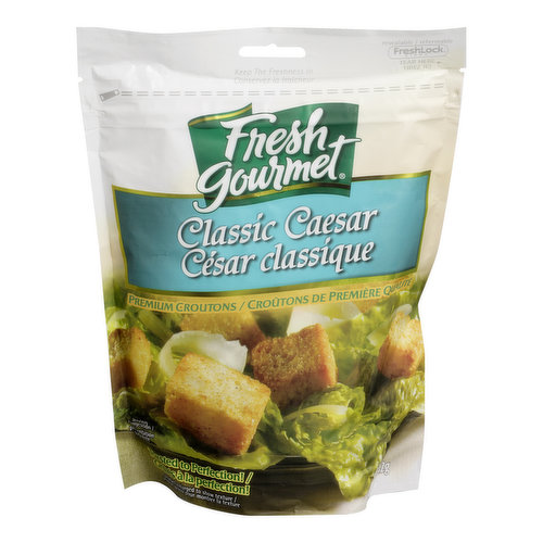 Premium Croutons Toasted to Perfection!