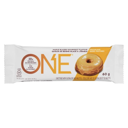 20 grams of protein and just 1 gram of sugar.  Its like having the doughnuts youre not supposed to have filled with everything you are supposed to have!