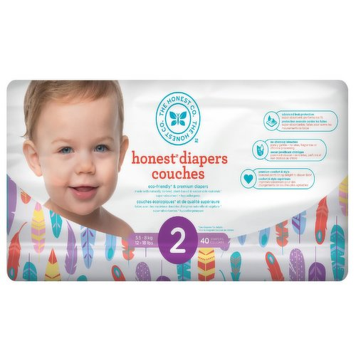 These super-absorbent, eco-friendly diapers are made with naturally derived & sustainable materials & theyre gentle for your babys delicate skin.