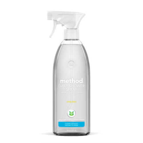 Cleans without Having to Rinse with Non Toxic Plant Based Powergreen Technology.