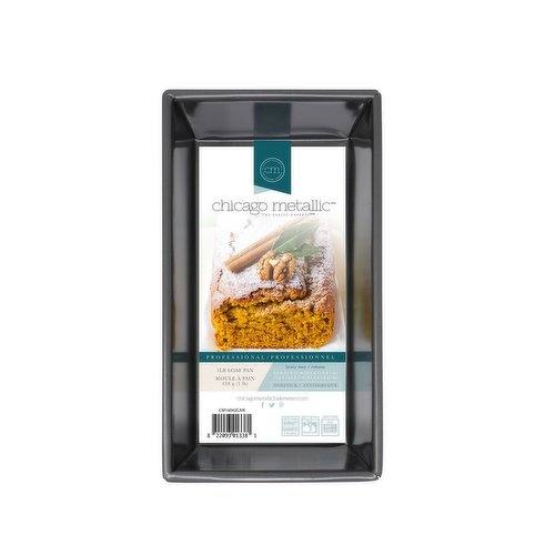 """This Non-Stick Loaf Pan delivers perfect homemade bread. Wire rod reinforcement and folded corners maintain its high-quality construction, ensuring theres no warping or """"popping"""" in your oven."""