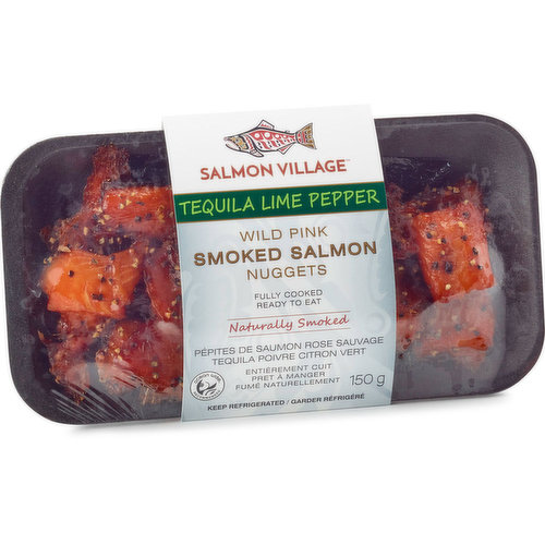 Ocean Wise Recommended. Naturally Smoked. Fully Cooked. Ready to Eat. Keep Refrigerated.