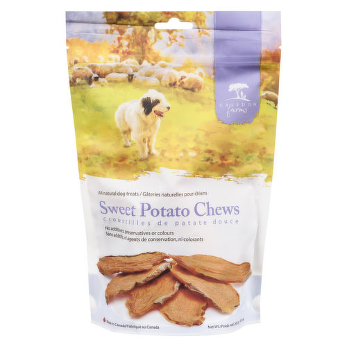 All natural dog chews. Rich in vitamins & minerals. No additives, preservatives or colors.