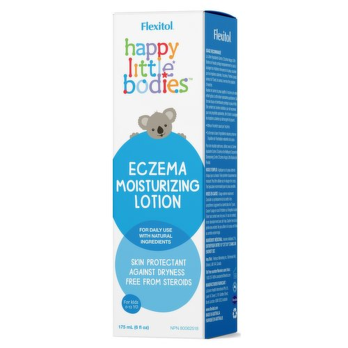 Soothe and calm your childs eczema prone skin with this everyday moisturizing lotion. Its gentle formulation with nurturing skin benefits.