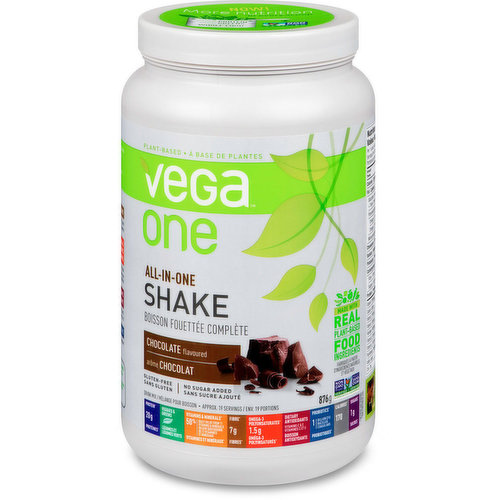 Made from carefully selected, premium, plant-based food ingredients youd choose yourself if you had the time, Vega One helps give you the nutritional confidence to live your best lifeno matter how much you pack into it.