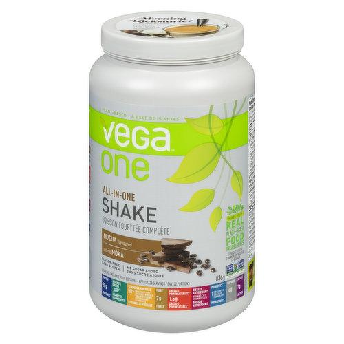 Plant Based Nutritional Shake. Gluten Free, No Sugar Added.