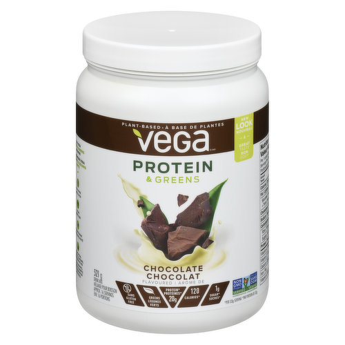 Made with real, plant-based food ingredients, Vega Protein & Greens is more than just a protein shake. Source of Antioxidant Vitamin C & Vitamin A which contributes to the normal function of the immune system.