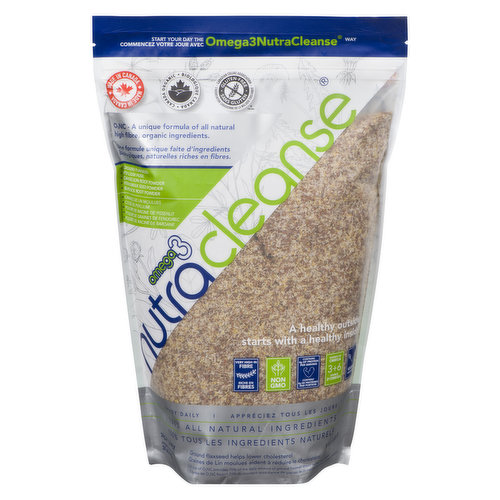 A Gluten-Free 100% Natural Food Product Based on a 150 Year-Old Finnish Recipe. High in Fibre, Source of Omega 3+6 .