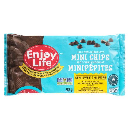 Free of Milk, Peanuts, Tree Nuts & Soy. Gluten Free.