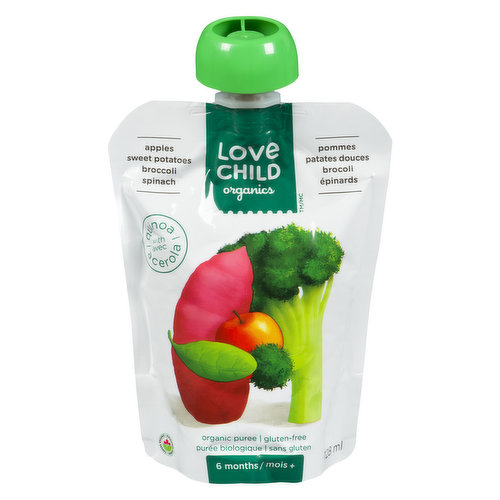 Full of the goodness of green & orange veggies with a touch of apple sweetness, this little pouch is hearty & wholesome. Loaded with vitamins & nutrients that babies need to grow.  6 months+