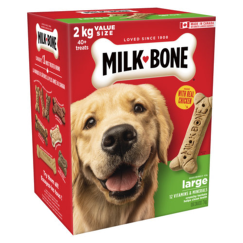 Biscuits for Dogs 23kg - 45kg . Helps Clean Teeth & Freshens Breath.