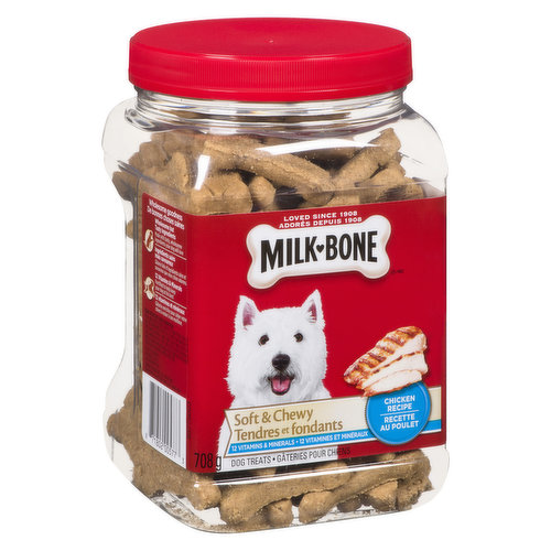 This treats are so meaty, your dog will think they're straight off the BBQ! Fortified with 12 vitamins & minerals to help keep dogs at their best.