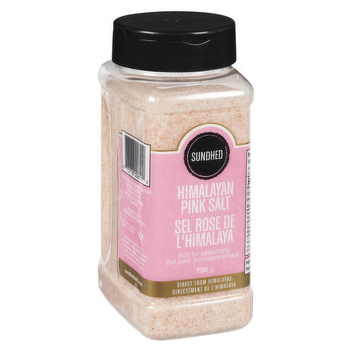 Himalayan Salt Contains the Same Amount of Sodium Chloride by Weight as Sea Salt. However, it has More Flavour Impact and so You Will Have to Use Less of It. The Minerals Enhance Its Flavour.