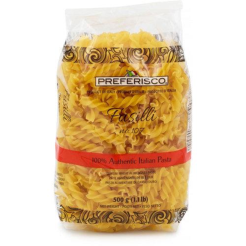Product of Italy. 100% Authentic Italian Pasta.
