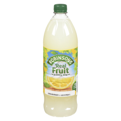 Concentrated Low Calorie Whole Lemon Soft Drink with Sweeteners. Contains a Source of Phenylalanine.