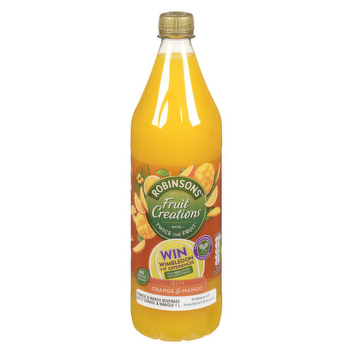 Concentrated Low Calorie Orange and Mango Soft Drink with Sweeteners.