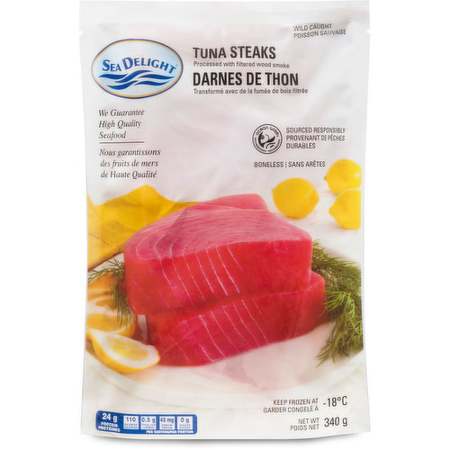 This Ahi tuna is perfect for searing with your favorite blend of spices.
