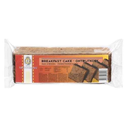 Product of Nederland. Breakfast Cake with  just eat with your morning coffee or tea