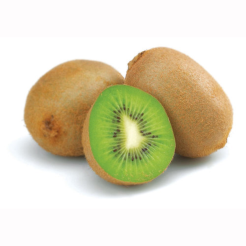 Packed with more vitamin C than an equivalent amount of orange, the bright green flesh of the kiwifruit speckled with tiny black seeds adds a dramatic tropical flair to any fruit salad.