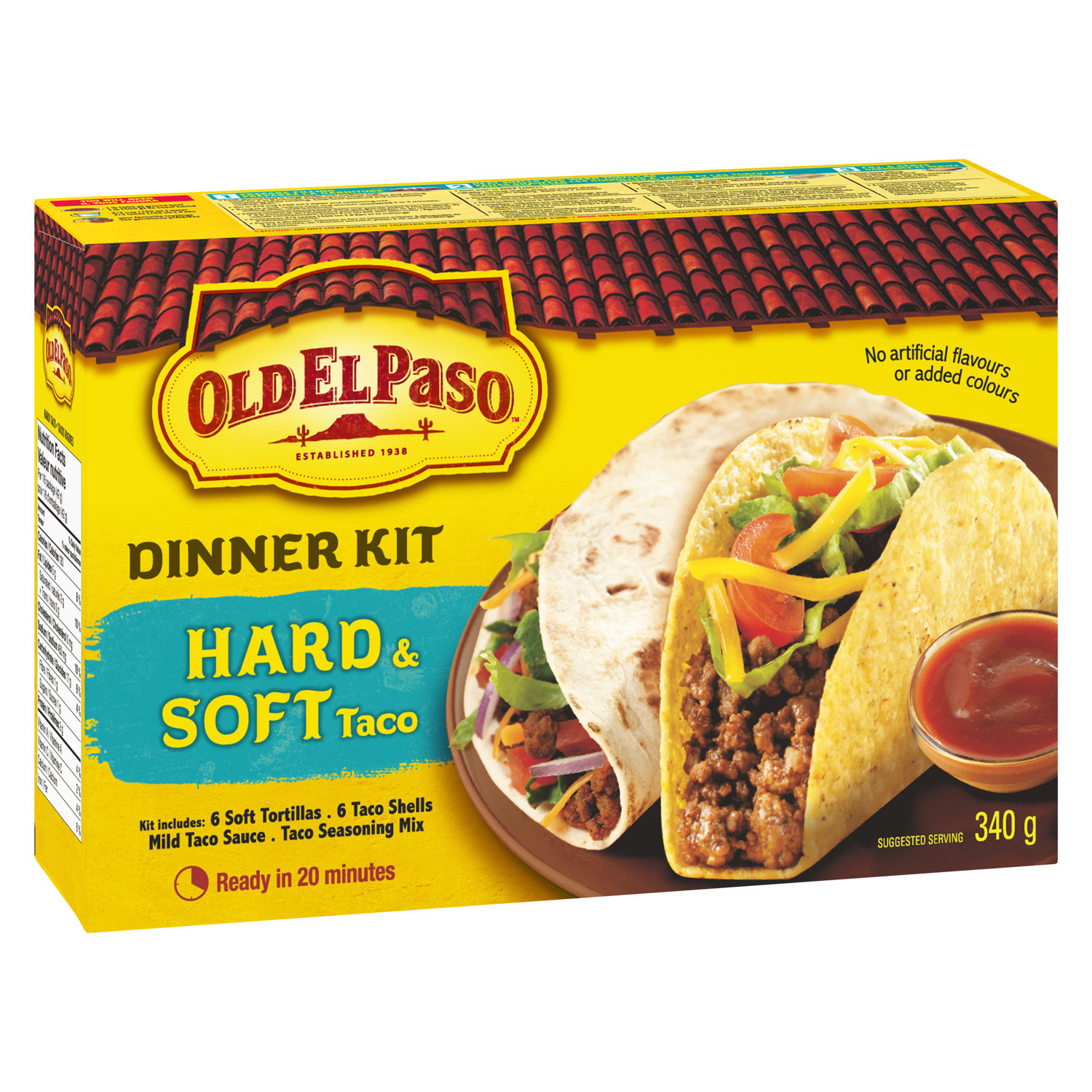 Old El Paso Old El Paso Dinner Kit Hard Soft Taco 340 G