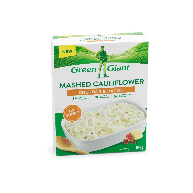 Green Giant Mashed Cauliflower Cheddar Bacon