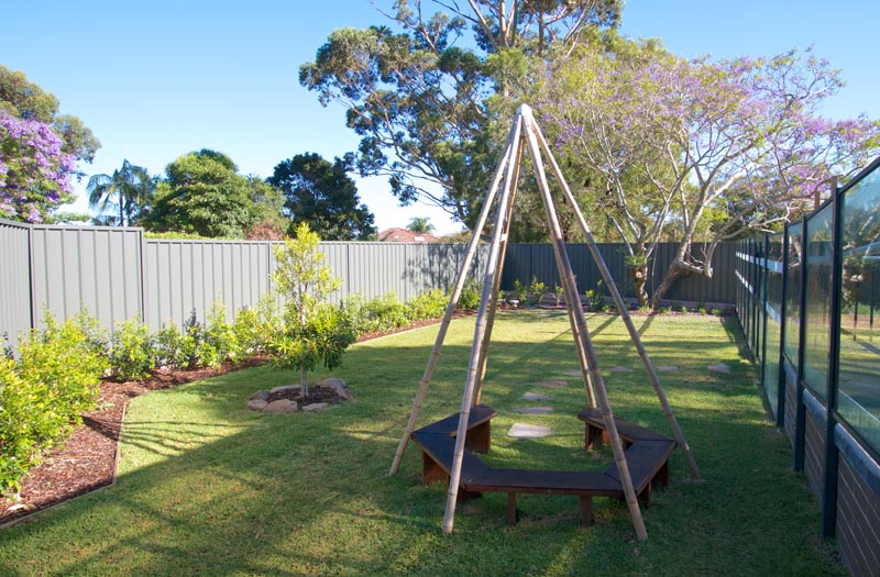 laugh and learn outdoor play-area