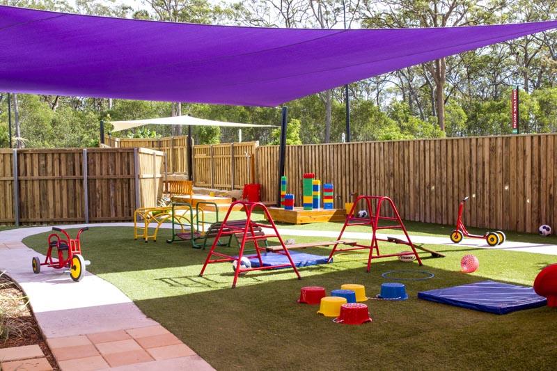 watsons childcares outdoor play area