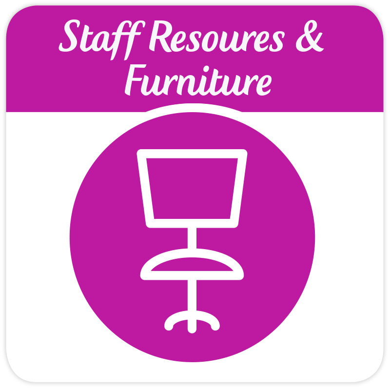 Staff Resources and Furniture